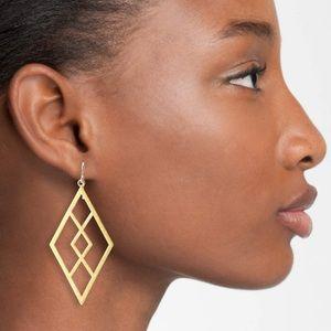 Dogeared earrings